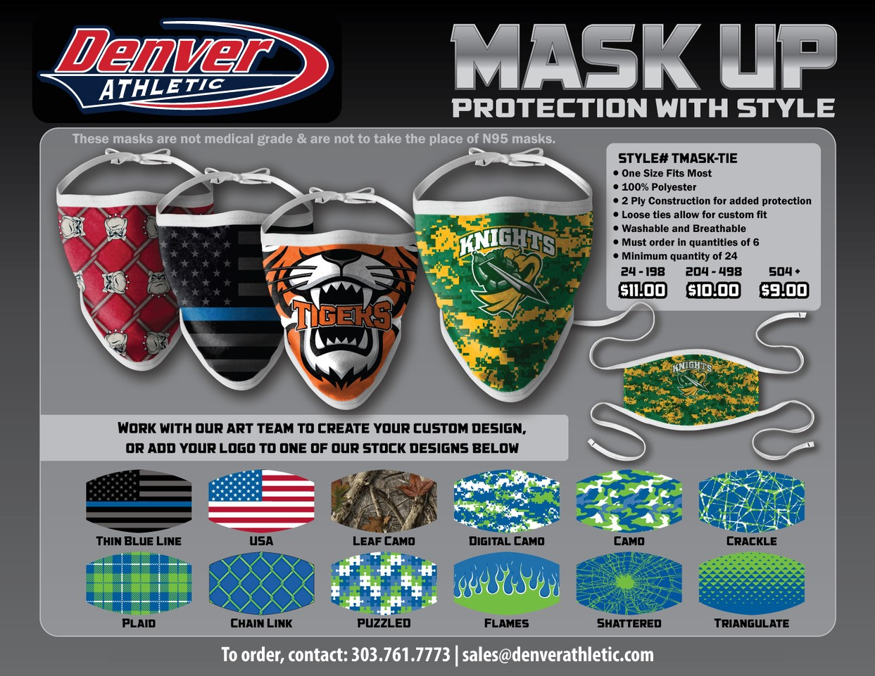 Face Mask Face Cover Fully Custom
