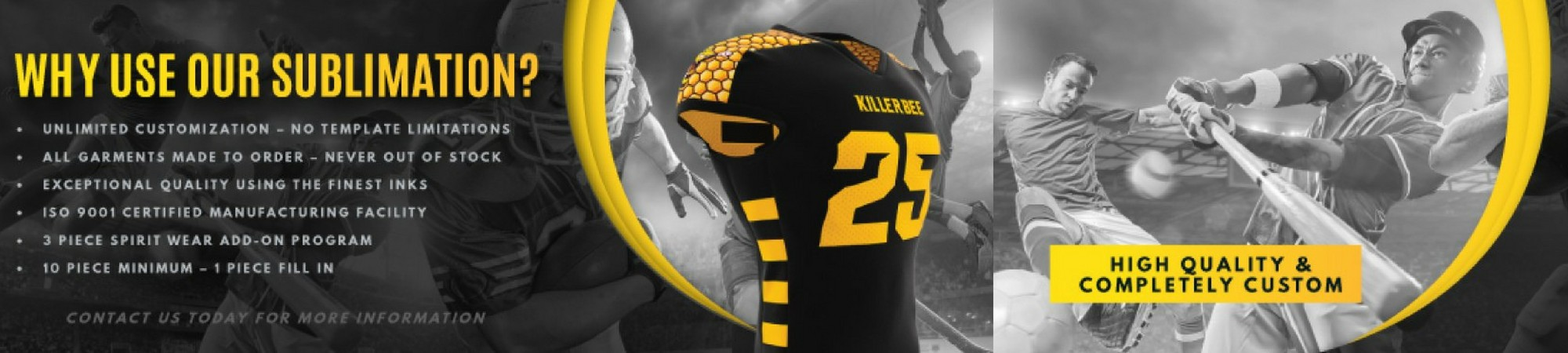 Custom Uniforms, Apparel, Athletic Equipment, & Promo Products - Home