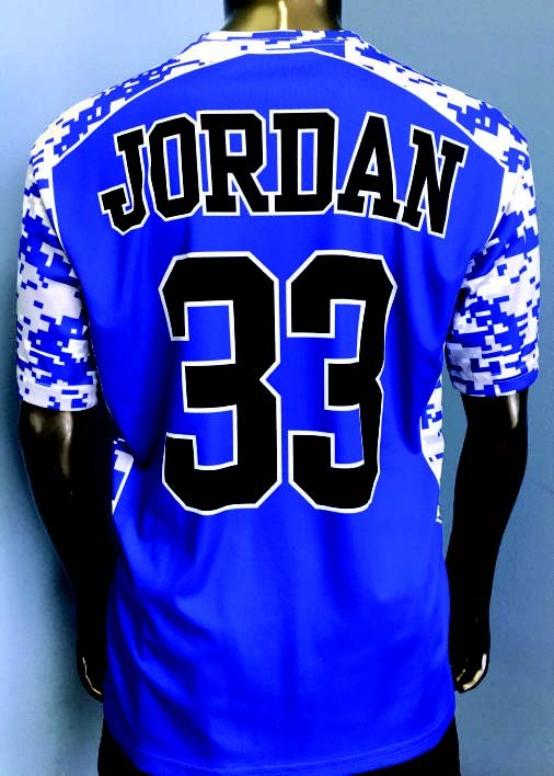 $40 Sublimated Jersey in 3 Weeks!